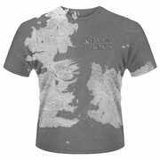 Idee regalo T-Shirt unisex Game of Thrones. Westeros Dye Sub Print Plastic Head