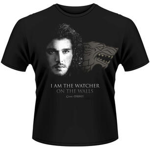 T-Shirt Game of Thrones. Watcher on the Wall (Trono di Spade)