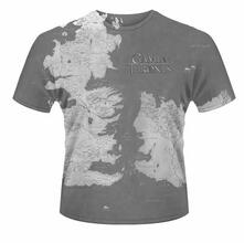 T-Shirt unisex Game of Thrones. Westeros Dye Sub Print