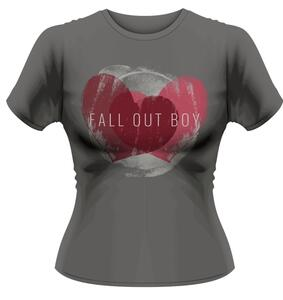 T-Shirt donna Fall Out Boy. Weathered Hearts