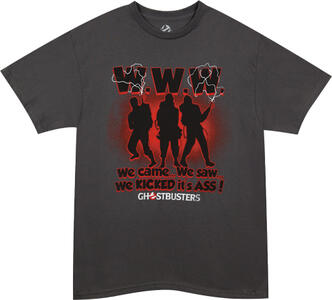 T-Shirt unisex Ghostbusters. We Came, We Saw