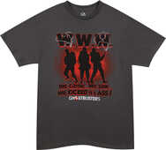 Idee regalo T-Shirt unisex Ghostbusters. We Came, We Saw Plastic Head
