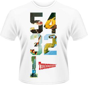 T-Shirt unisex Thunderbirds. 54321