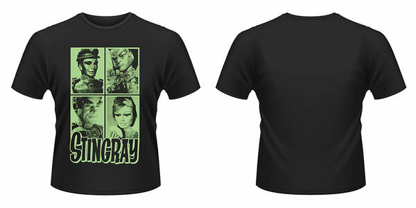 T-Shirt unisex Gerry Anderson Stingray. Mug Shots