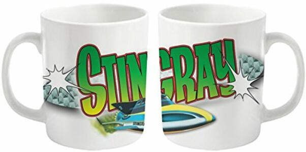 Tazza Gerry Anderson Stingray. Logo