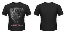 T-Shirt unisex Hemlock Grove. Wolf Hand Red