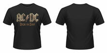 T-Shirt donna AC/DC. Rock Or Bust