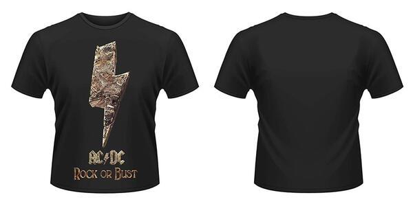 T-Shirt unisex AC/DC. Rock Or Bust 2