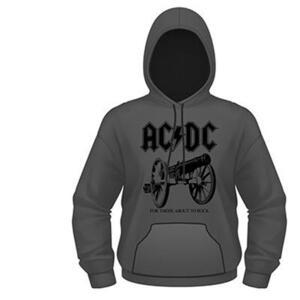 Felpa con Cappuccio AC/DC. For Those About to Rock