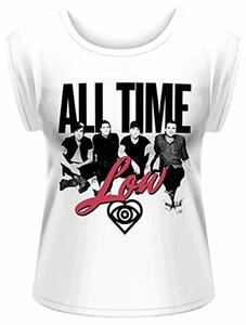T-Shirt donna All Time Low. Unknown Rolled Sleeve