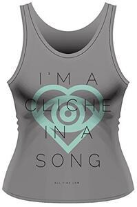 Canotta donna All Time Low. Cliche