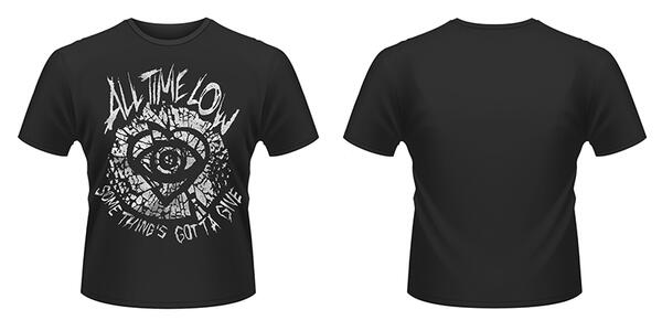T-Shirt unisex All Time Low. Shatter