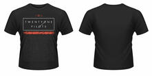 T-Shirt unisex Twenty One Pilots. Scale Pattern Strip