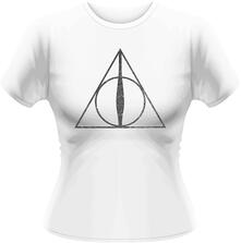 T-Shirt donna Harry Potter. Deathly Hallows Symbol