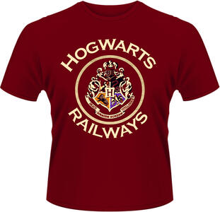 T-Shirt unisex Harry Potter. Railways