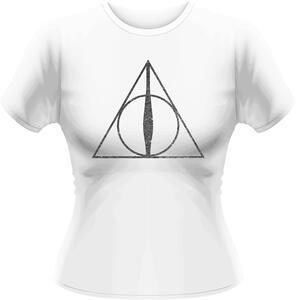 T-Shirt donna Harry Potter. Deathly Hallows Symbol