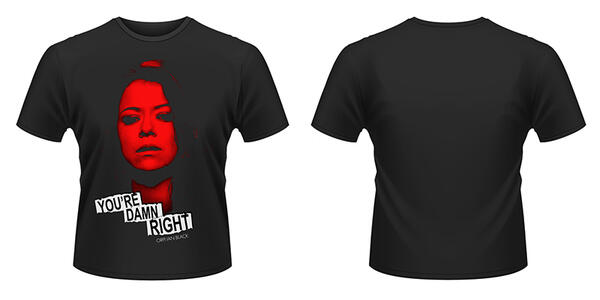 T-Shirt unisex Orphan Black. Tatiana Maslany. Damn Right