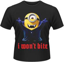 T-Shirt unisex Minions. I Won't Bite