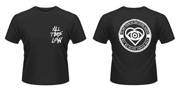 T-Shirt unisex All Time Low. Graffiti Front & Back Print