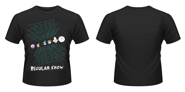T-Shirt unisex Regular Show. Virtual Reality