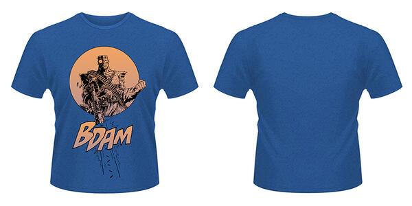T-Shirt unisex 2000ad Bad Company. Kano Bdam