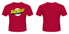 T-Shirt unisex Big Bang Theory. Bazinga