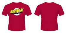 T-Shirt unisex Big Bang Theory. Bazinga