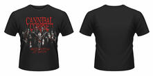 T-Shirt unisex Cannibal Corpse. Butchered at Birth (2015)