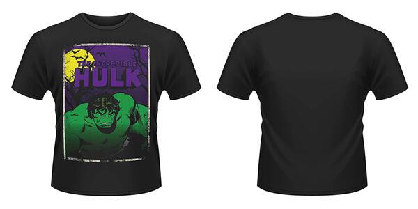 T-Shirt Marvel Comics. Halloween Hulk