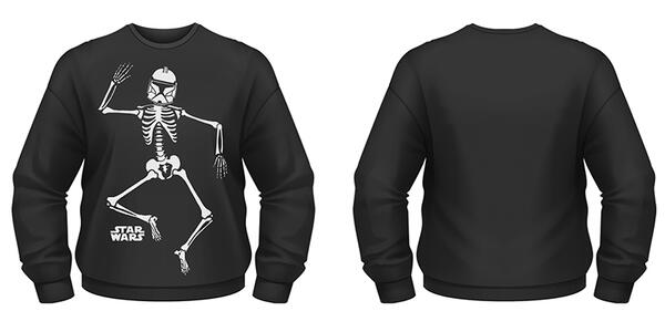 Felpa Star Wars. Halloween Clone Skeleton