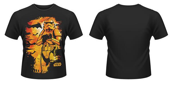 T-Shirt Star Wars. Halloween Stormtrooper