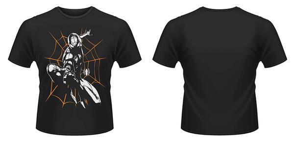 T-Shirt Marvel Ultimate Spiderman. Halloween Shooting