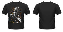 T-Shirt Marvel Ultimate Spiderman. Halloween Shooting