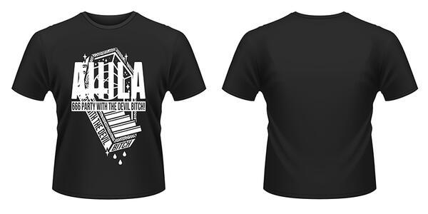 T-Shirt Attila. Coffin