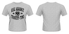 T-Shirt Rise Against. Tragedy Time
