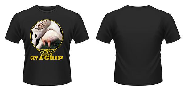 T-Shirt Aerosmith. Get A Grip
