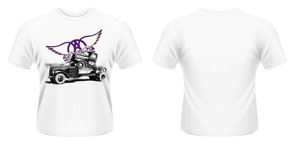 T-Shirt Aerosmith. Pump