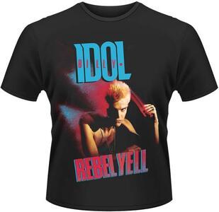 T-Shirt unisex Billy Idol. Rebel Yell Cover