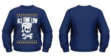 Felpa All Time Low. Christmas Skull