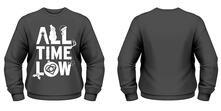 Felpa All Time Low. Christmas Logo