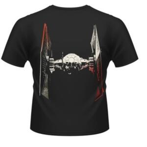 T-Shirt unisex Star Wars The Force Awakens. Tie-Fighter Approaching Rear - 3