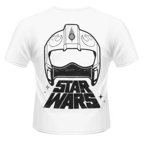 T-Shirt unisex Star Wars The Force Awakens. X-Wing Fighter Rear - 2