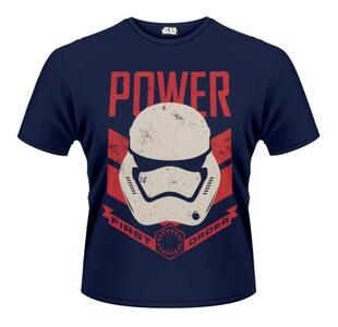 T-Shirt unisex Star Wars The Force Awakens. Stormtrooper Power First Order...