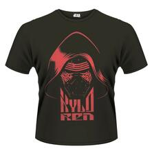 T-Shirt unisex Star Wars The Force Awakens. Kylo Ren Head (Red Print)