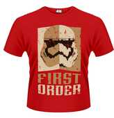 Idee regalo T-Shirt unisex Star Wars The Force Awakens. Stormtrooper First Order... Plastic Head