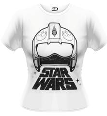 T-Shirt donna Star Wars The Force Awakens. X-Wing Fighter Helmet