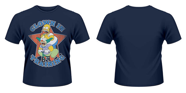 T-Shirt Simpsons, The. Clown