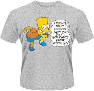T-Shirt unisex Simpsons. Didn't Do It