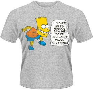 T-Shirt unisex Simpsons. Didn't Do It