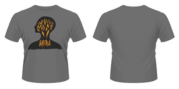 T-Shirt Gojira. Headcase